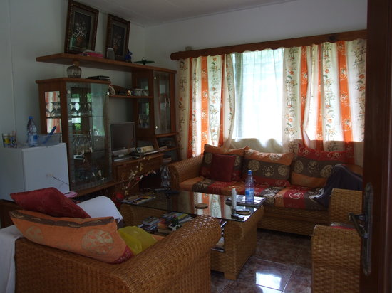 Buisson Guesthouse La Digue: Living Room