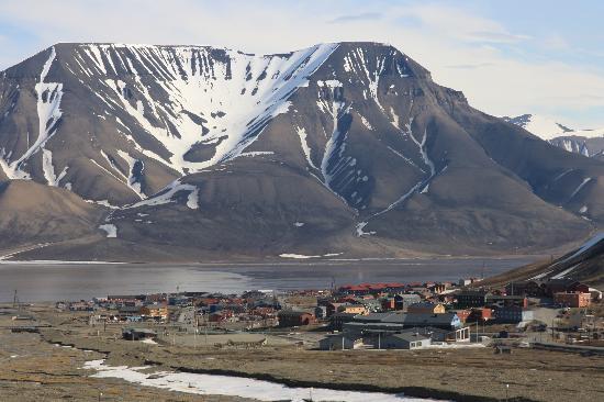 Coal Miners' Cabins: Longyearbyen