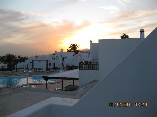 Los Pueblos Apartments: Utsyg fra terrasse rom 318. Fin sjøutsikt også. Utsiktsmessig er dette et av de beste hotellene