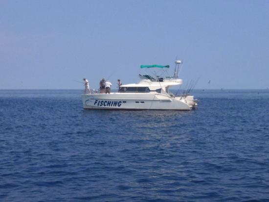 Le Grand Bleu: le bateau de peche