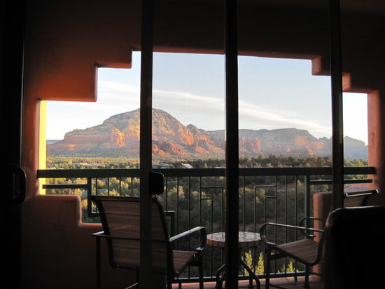 Sedona Summit Resort: room with a view