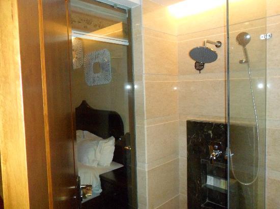 King Land Hotel: Shower