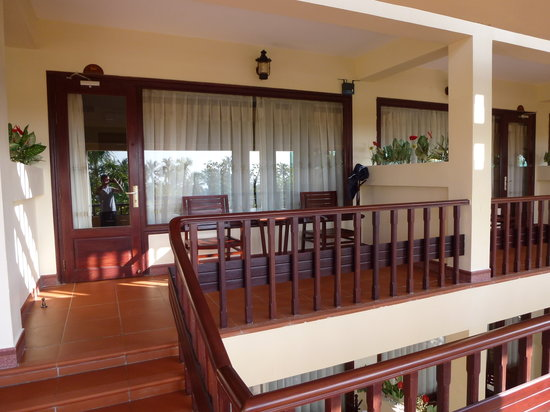 Blue Waves (Tien Dat) Resort: balcony
