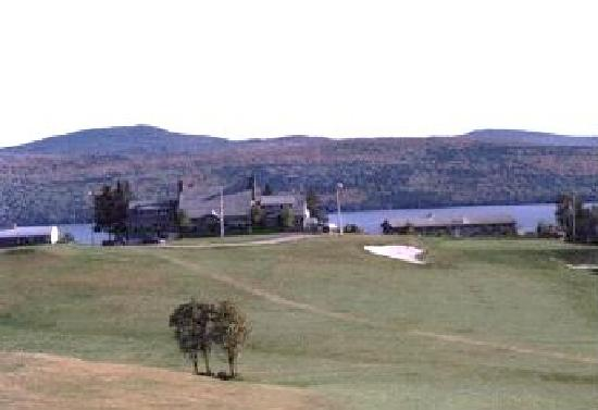 Country Club Inn: View From Golf Course