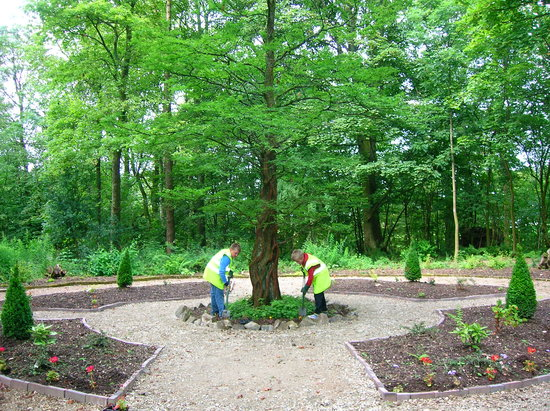 Beith, UK: The Coronation Garden