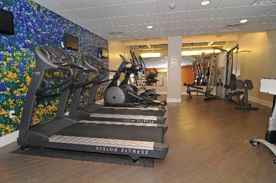 Hotel Indigo San Antonio At The Alamo: Fitness Room