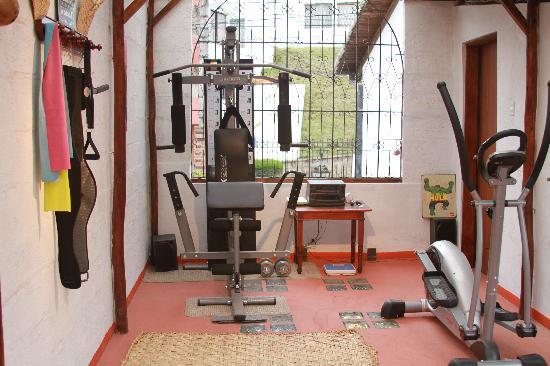 Chez Elena Guesthouse: gym
