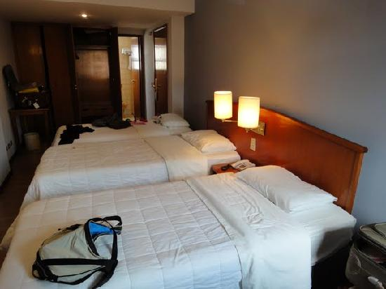 Hotel Moncloa: Espacio para 3 personas