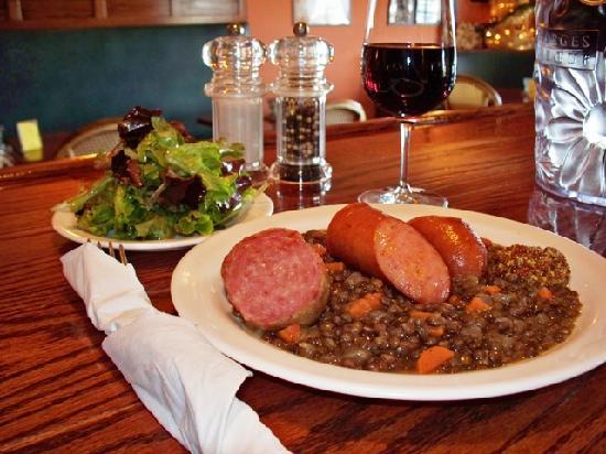 Le Catalan~Sausage Lentil Stew