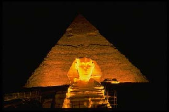 Best Egypt Shore Day Excursions: Sound and light show at pyramids