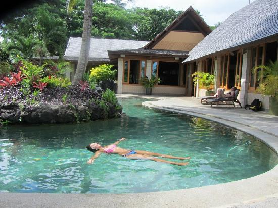 Koro Sun Resort and Rainforest Spa: Pool Area