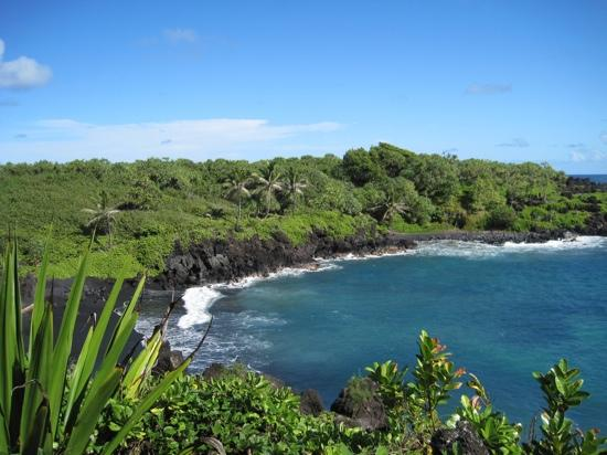 Wai'anapanapa State Park: view from above
