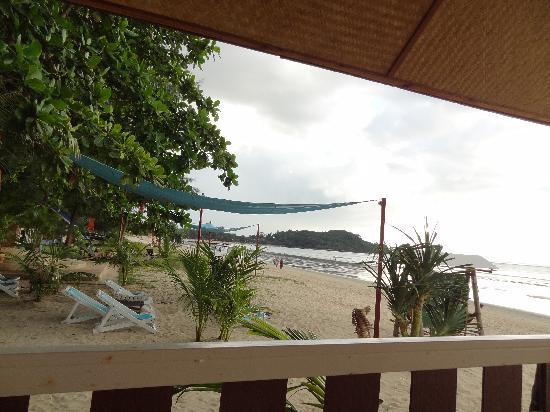 Lanta Island Resort: Aufnahme von der Terrasse