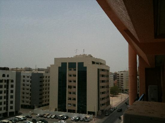 Panorama Hotel Bur Dubai: east view from balacony