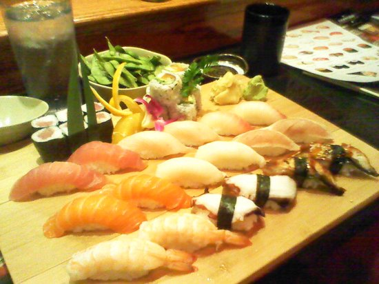 Osaka Sushi and Hibachi: Nigiri for Two