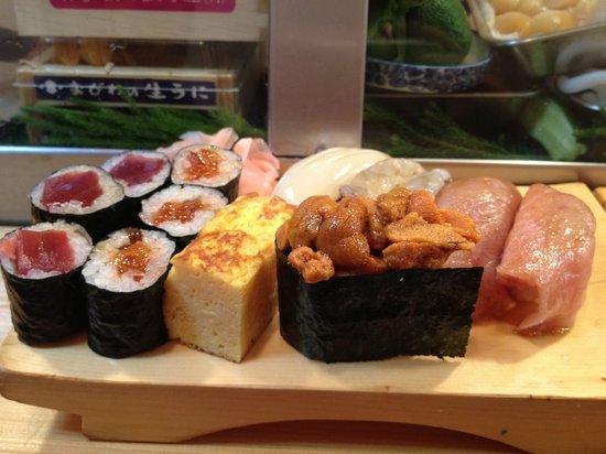 Daiwa Sushi: Sushi Set Y3500