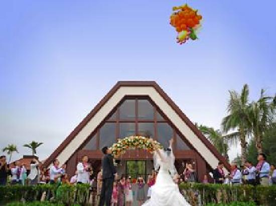 Sanya Marriott Yalong Bay Resort & Spa: Wedding on the beach