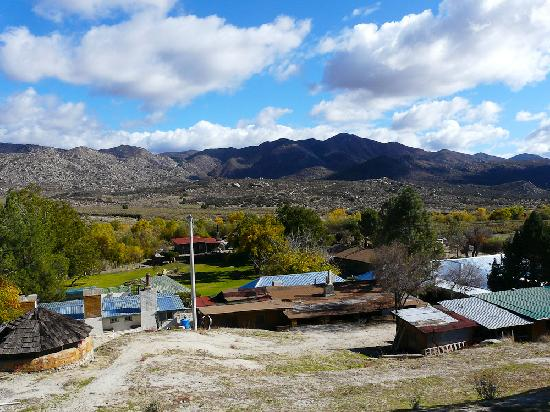 Meling Ranch in the middle of Baja mountains