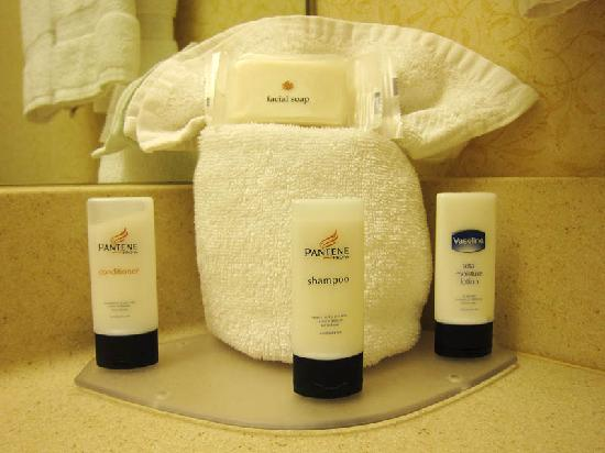 Fairfield Inn Lexington Park Patuxent River Naval Air Station: Bath amenities, Pantene brand.