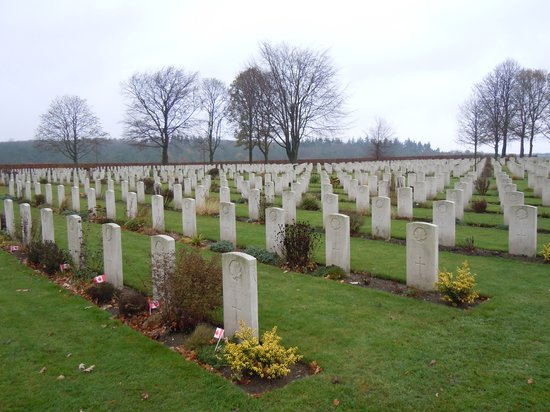 Groesbeek, Holandsko: So many perished...