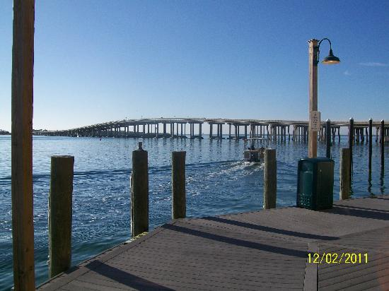Destin Holiday Beach Resort 2: The bridge to and from Destin