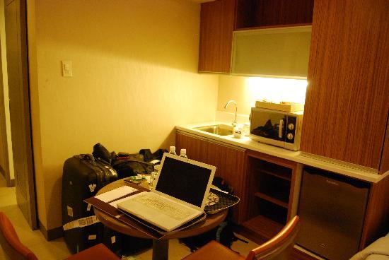 The A.Venue Hotel: room