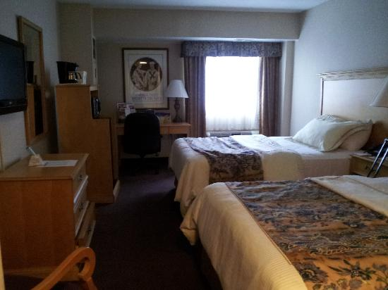 BEST WESTERN Rosslyn/Iwo Jima: Room upon checking in