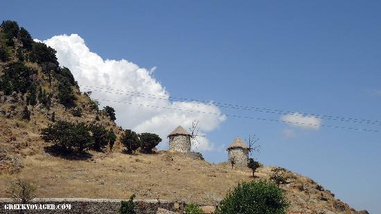Lemnos, Greece: Kontias, the beautiful village in main land