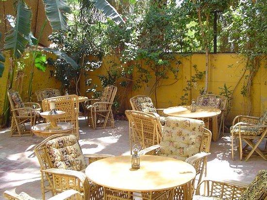 La Maison de Pythagore: Terasse jardin