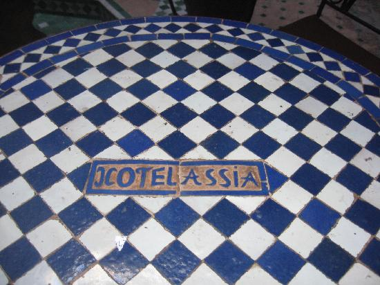 Riad Hotel Assia : nome...non si sa mai