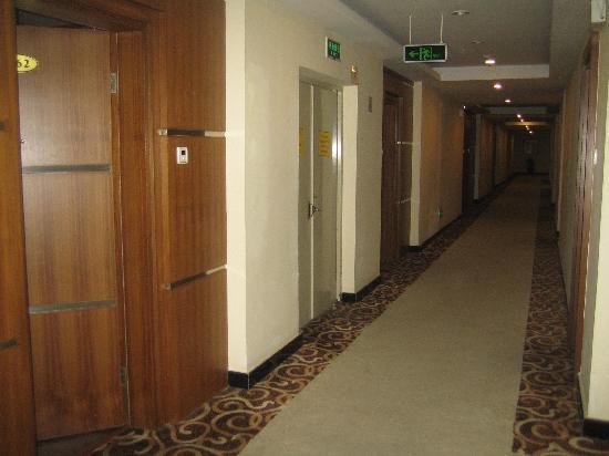 Home Inn Guangzhou Pazhou Chigang Subway Station: Hotel area