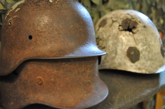 State Memorial Museum of Leningrad Defense and Blockade: Real helmets