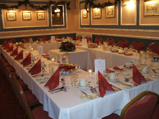 Stonecross Manor Hotel: Decorated Function Room