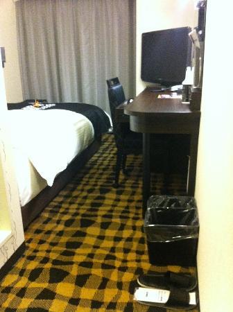 APA Hotel Shinbashi Onarimon : シングルルーム