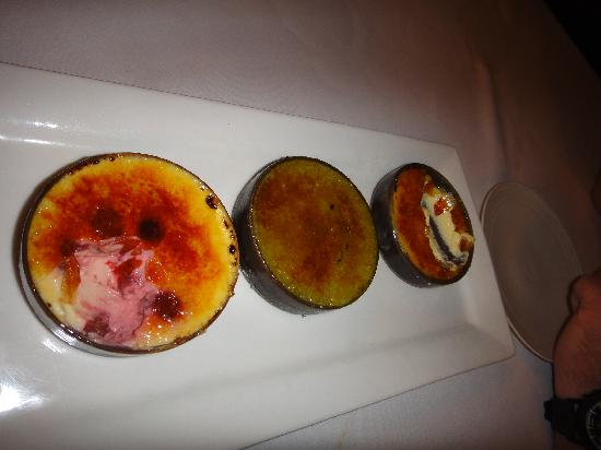 Metis: Trio of Brulee - Yum!