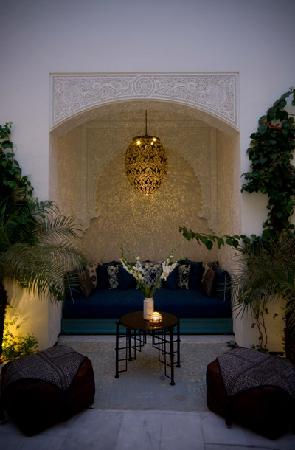 Riad Idra: Patio