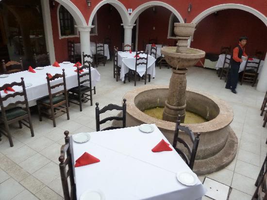Hotel Santa Teresa : DINING ROOM