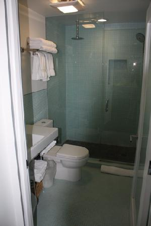 Venice Breeze Suites: Rain shower