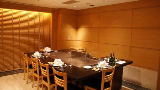 Monarch Plaza Hotel: salon privé du restaurant