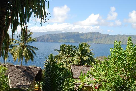 Hanakee Hiva Oa Pearl Lodge: vue des bungalows