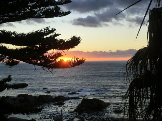 Africabana Luxury Retreat: Sonnenuntergang ebenso aus der Suite