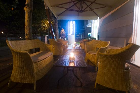 Hotel Accademia : terrazza
