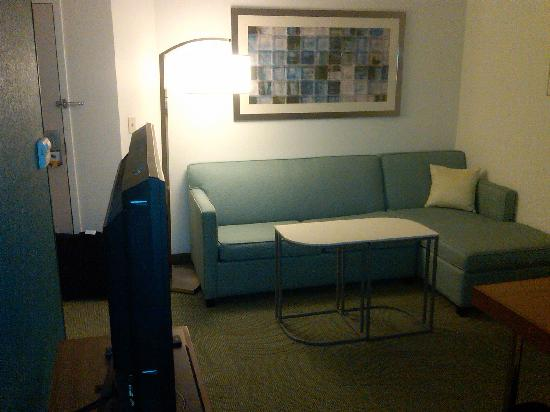 SpringHill Suites Winston-Salem Hanes Mall: Room 415 - Sitting area