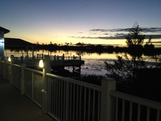 Marriott's Harbour Lake: Perfect place for Sunset