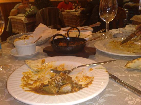 los platos del taj