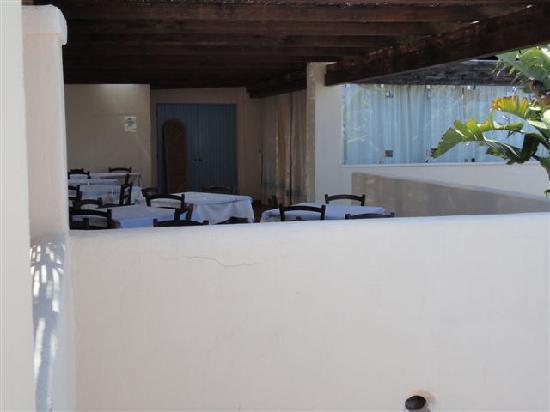 Veraclub Costa Rey: la sala colazionifuori dalla camera