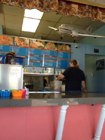 counter in Leesburg