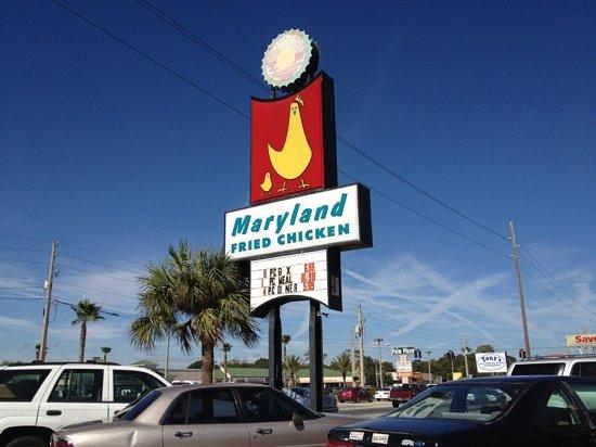 Best Fried Chicken Restaurant In Maryland
