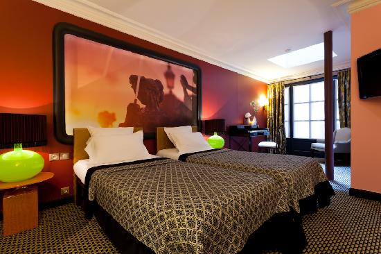 Hotel Fontaines du Luxembourg: Wheelchair accessible room