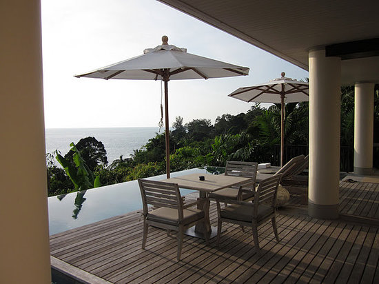 Trisara Phuket: two-room pool villa, deck and pool